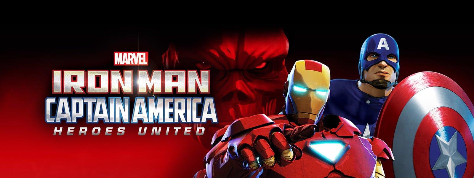 アイアンマン & キャプテン・アメリカ:真のヒーローたち